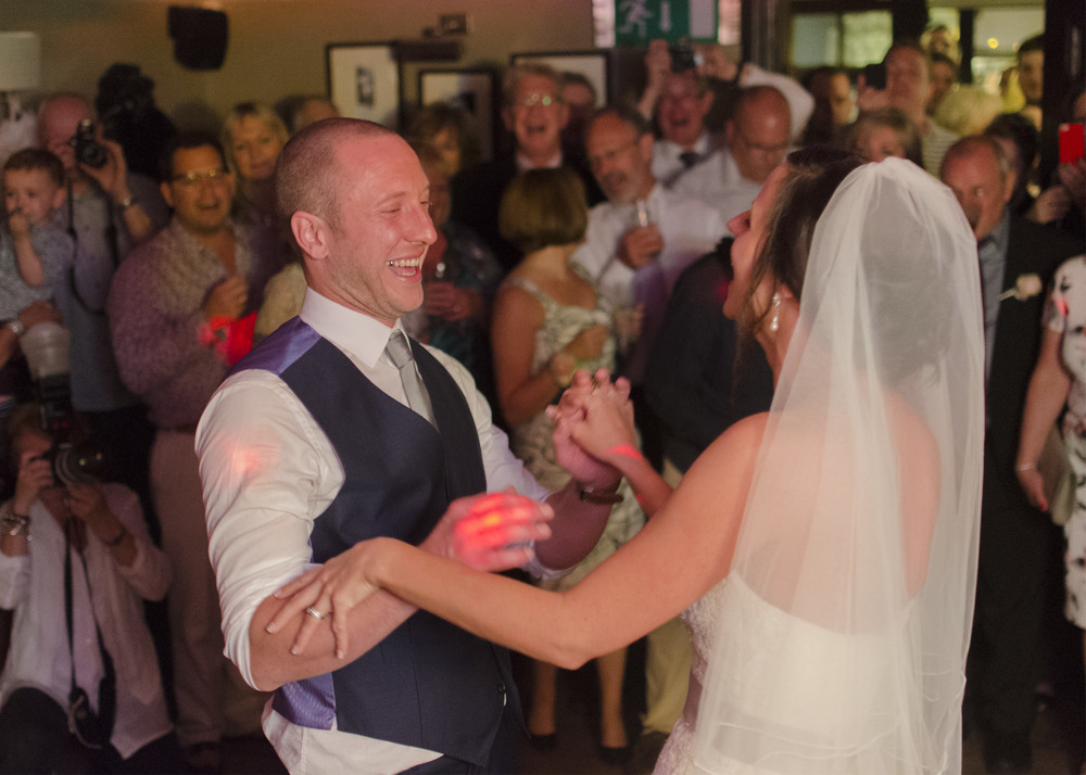 Bell's of Peover (Knutsford). Lisa and Rob.