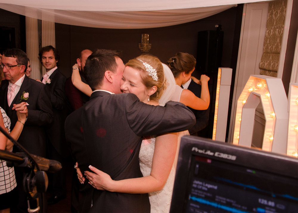 This is potentially how close your Wedding DJ will be to you.