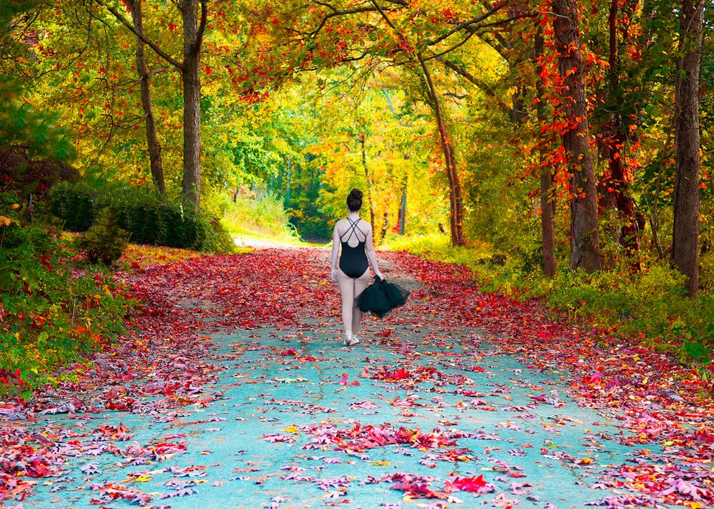 Ballet in Fall