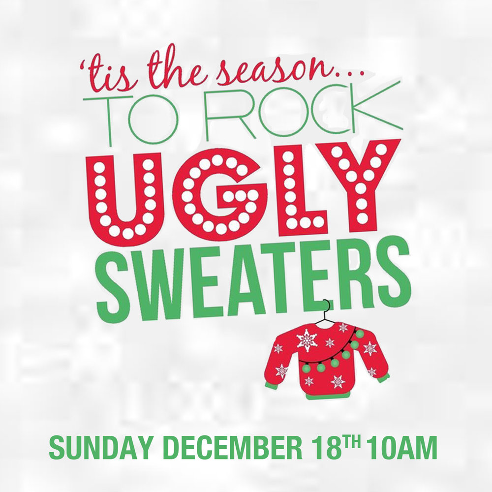 Ugly Festive Christmas Sweater Sunday And Party City Place