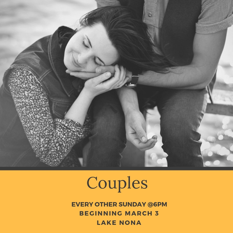 God has a wonderful plan for your marriage. Join with married couplles from every age & stage for this city group. YOu can expect to grow together, learn from others, and mentor others in the are of marriage.  This group meets every other Sunday. No childcare is provided.