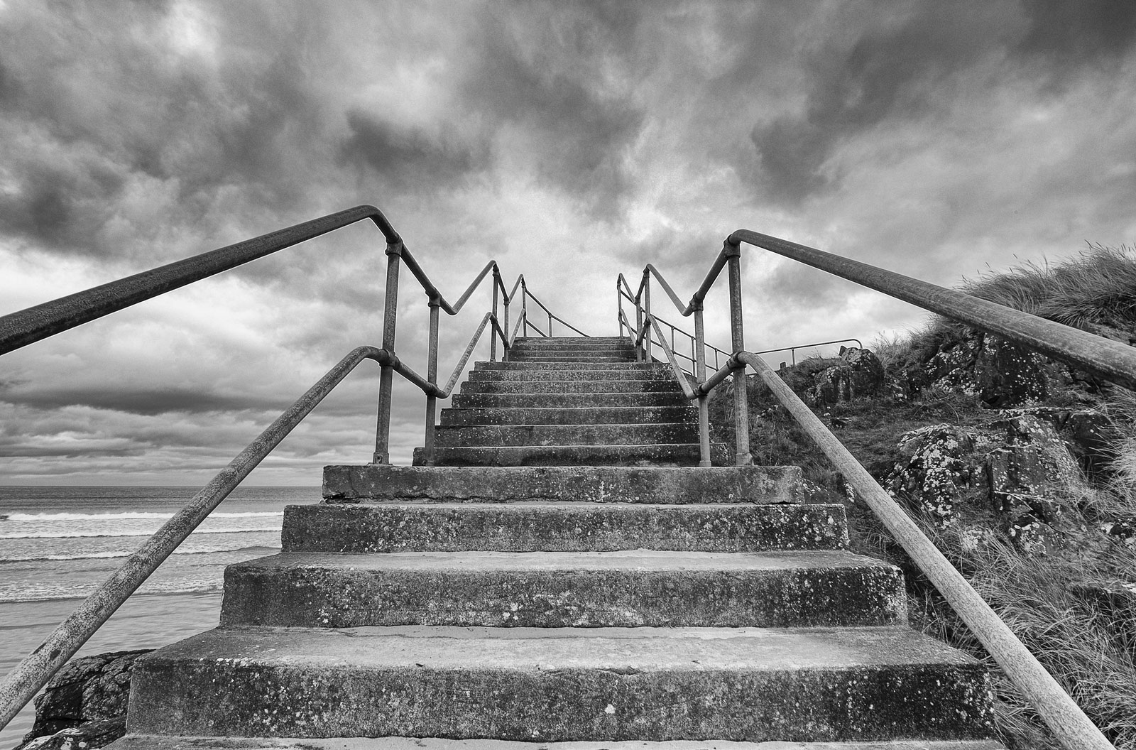 Stairway to Heaven - Portstewart - Geoff McGrath Photography