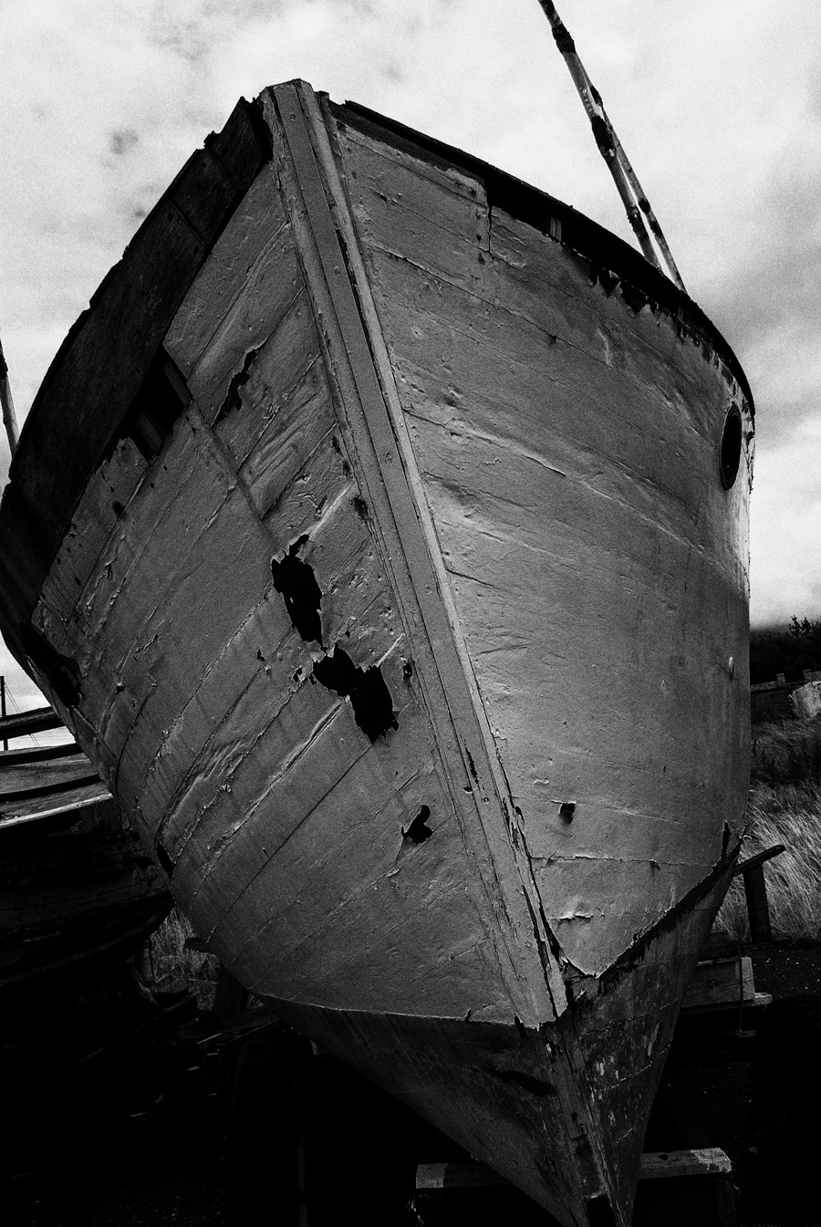 Old Boat (1) Portmuck - Fine Art Photography by Geoff McGrath Northern-Ireland