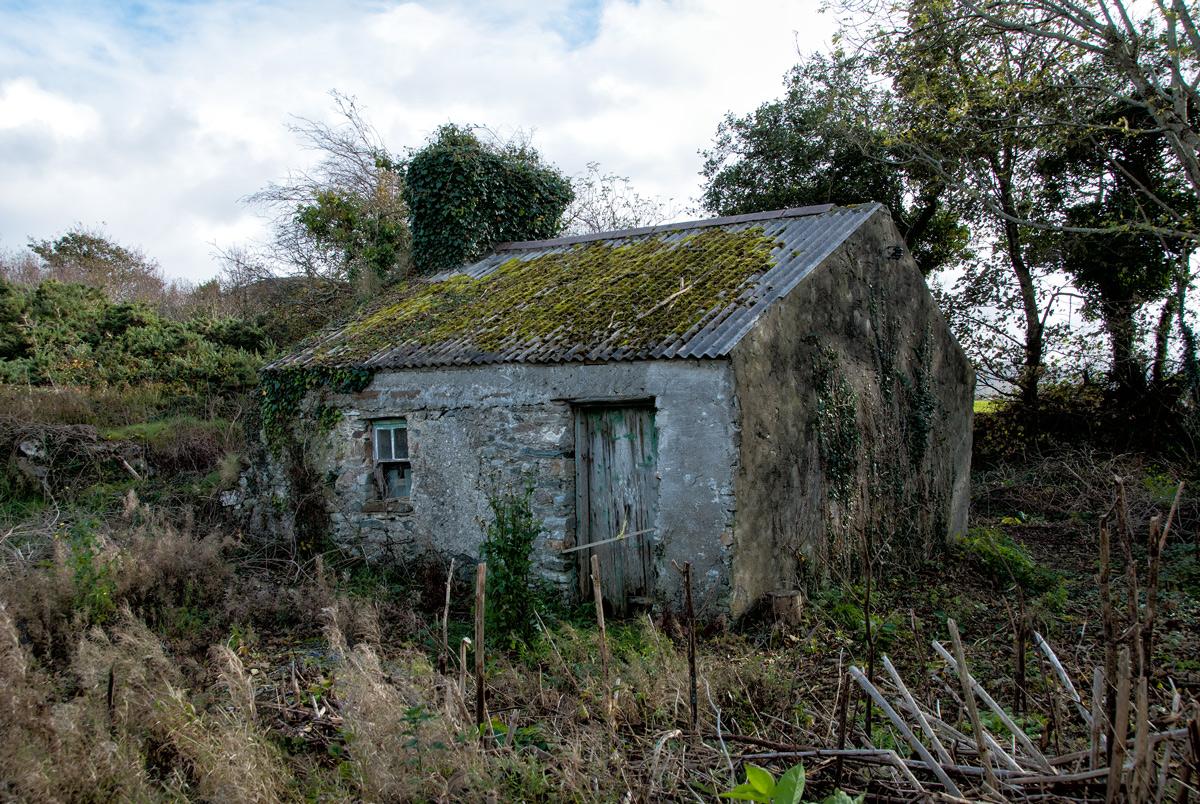 Fine Art Irish Landscape - Derelict Cottage, Tawnmackan, Co.Mayo - Geoff McGrath Photography