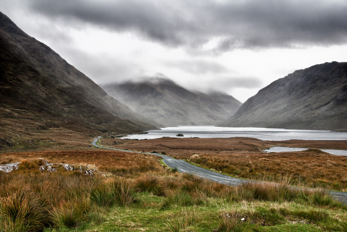 Fine Art Irish Landscapes, Upper Doolough Valley, Co. Mayo, Geoff McGrath Photography