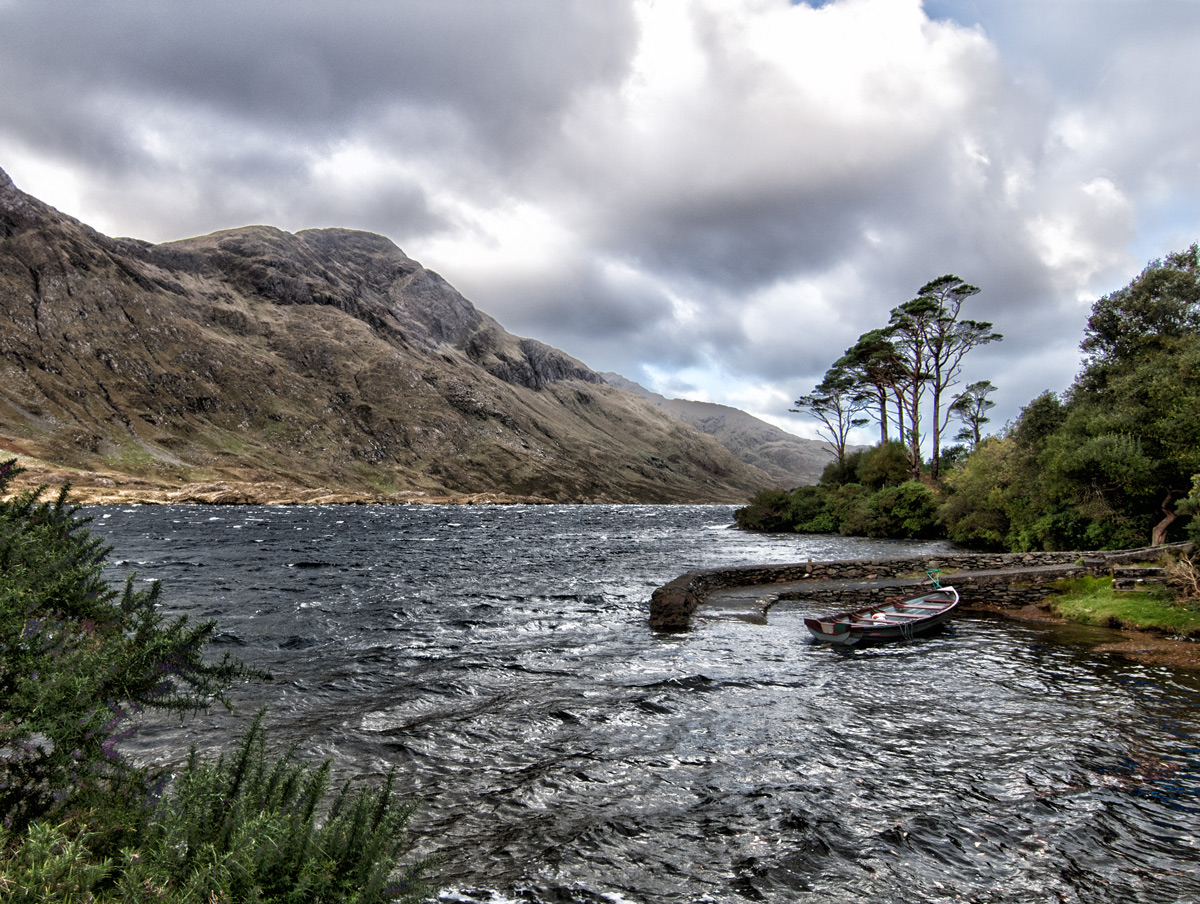 Fine Art Irish Landscape, Upper Doolough Valley, Co. Mayo, Geoff McGrath Photography