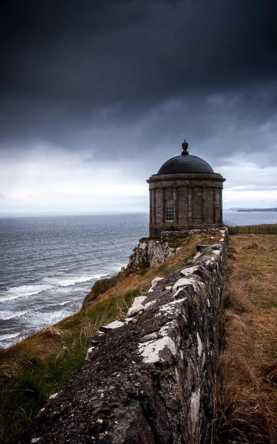 Mussenden Temple Fine Art Northern Ireland, Geoff McGrath