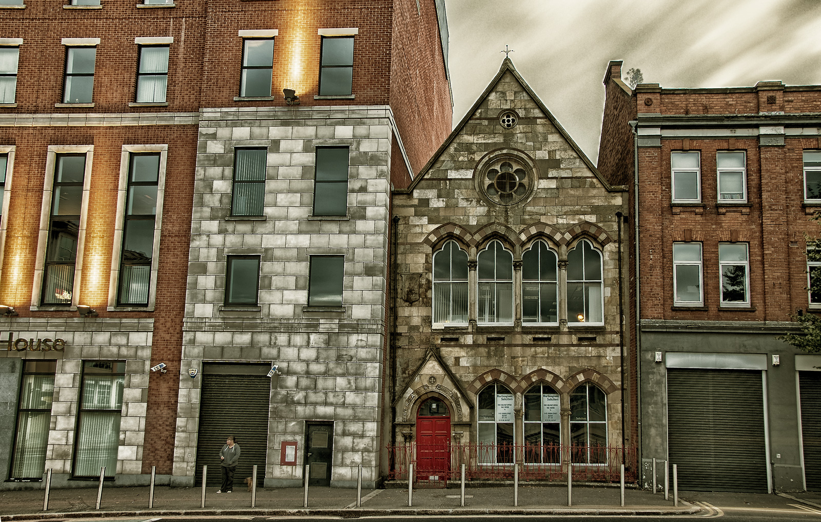 Formerly St Malachy's Christians School located on Oxford Street, Belfast
