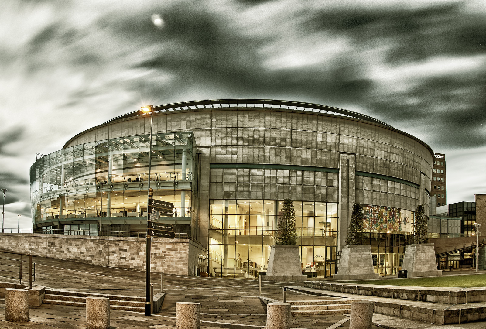 Waterfront Hall, Belfast, by Geoff McGrath Photography