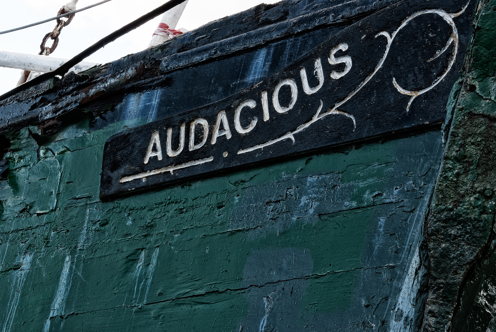 Audacious, Carrickfergus Harbour August 2013