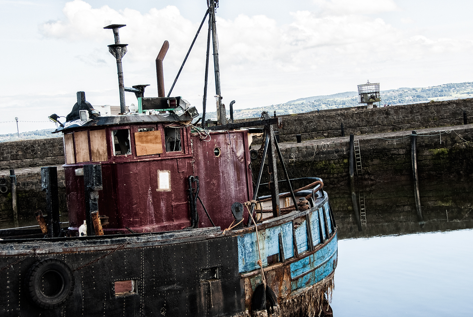 Old Boat at Carrickfergus