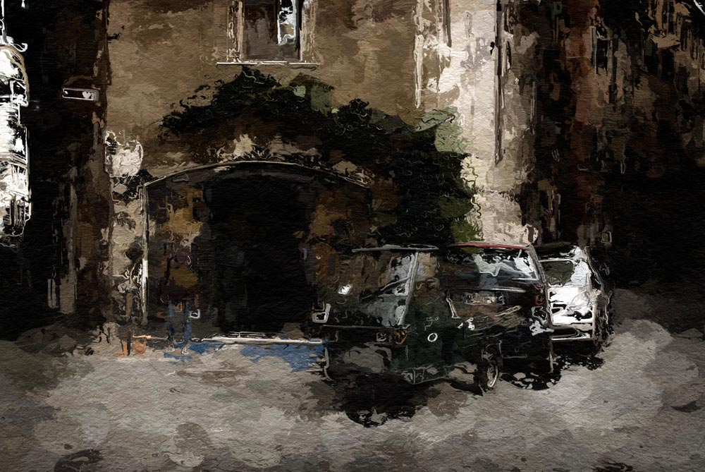 Street Scene - Rome - Fine Art Photography by Geoff McGrath, Northern Ireland