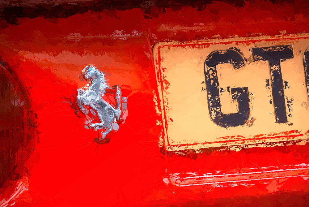 La Scuderia - Ferrari 308 GTS - Fine Art Photography by Geoff McGrath, Northern Ireland