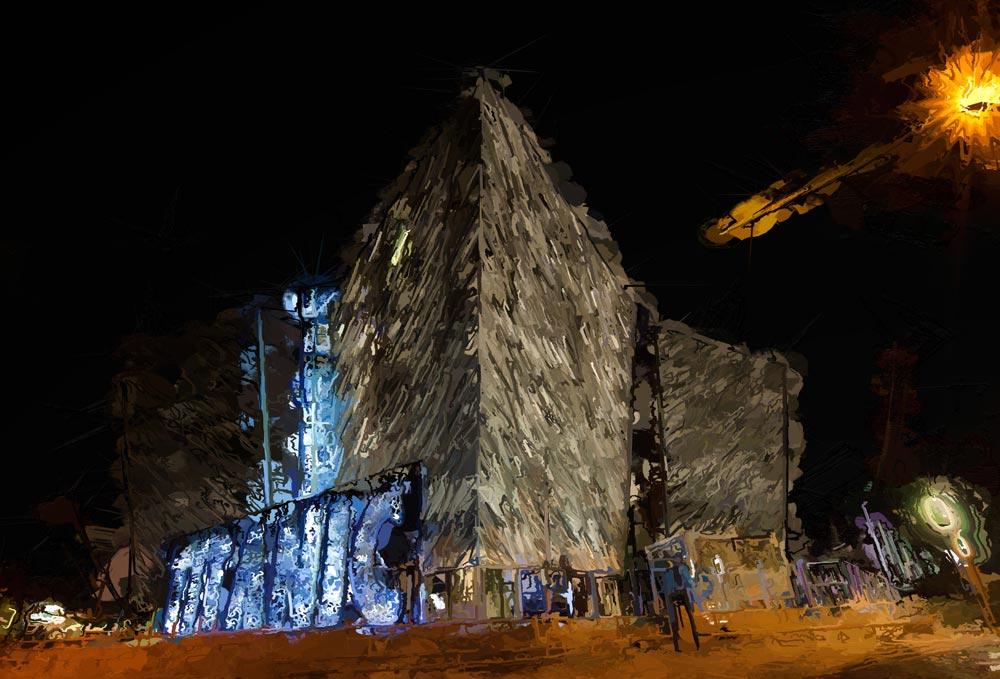 Titanic Christmas - Titanic Building - Christmas 2013