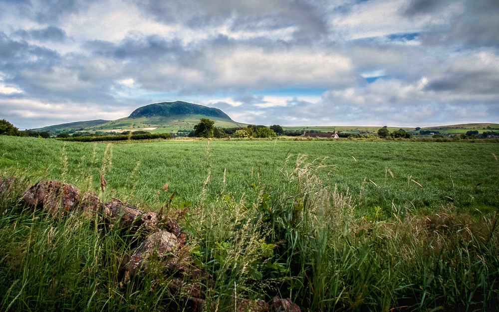 The beautiful Slemish mountain where Saint Patrick often roamed while tending sheep.  This is another iconic image from Geoff's successful Associate Panel submission.