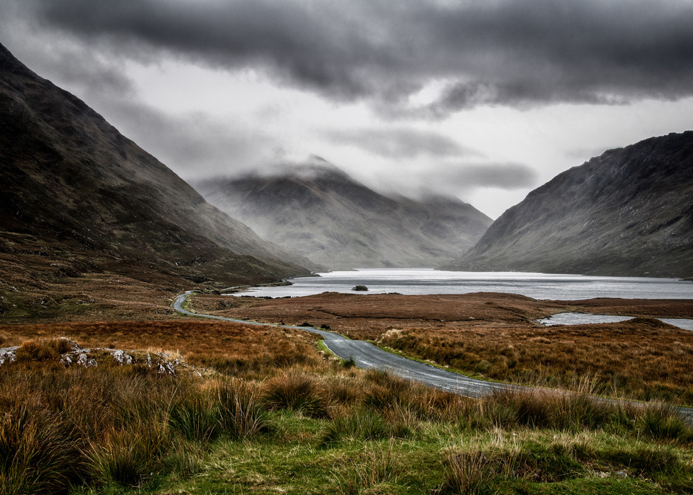 Upper Doolough Valley, Mayo – ASINWP Distinction Panel – Geoff McGrath.