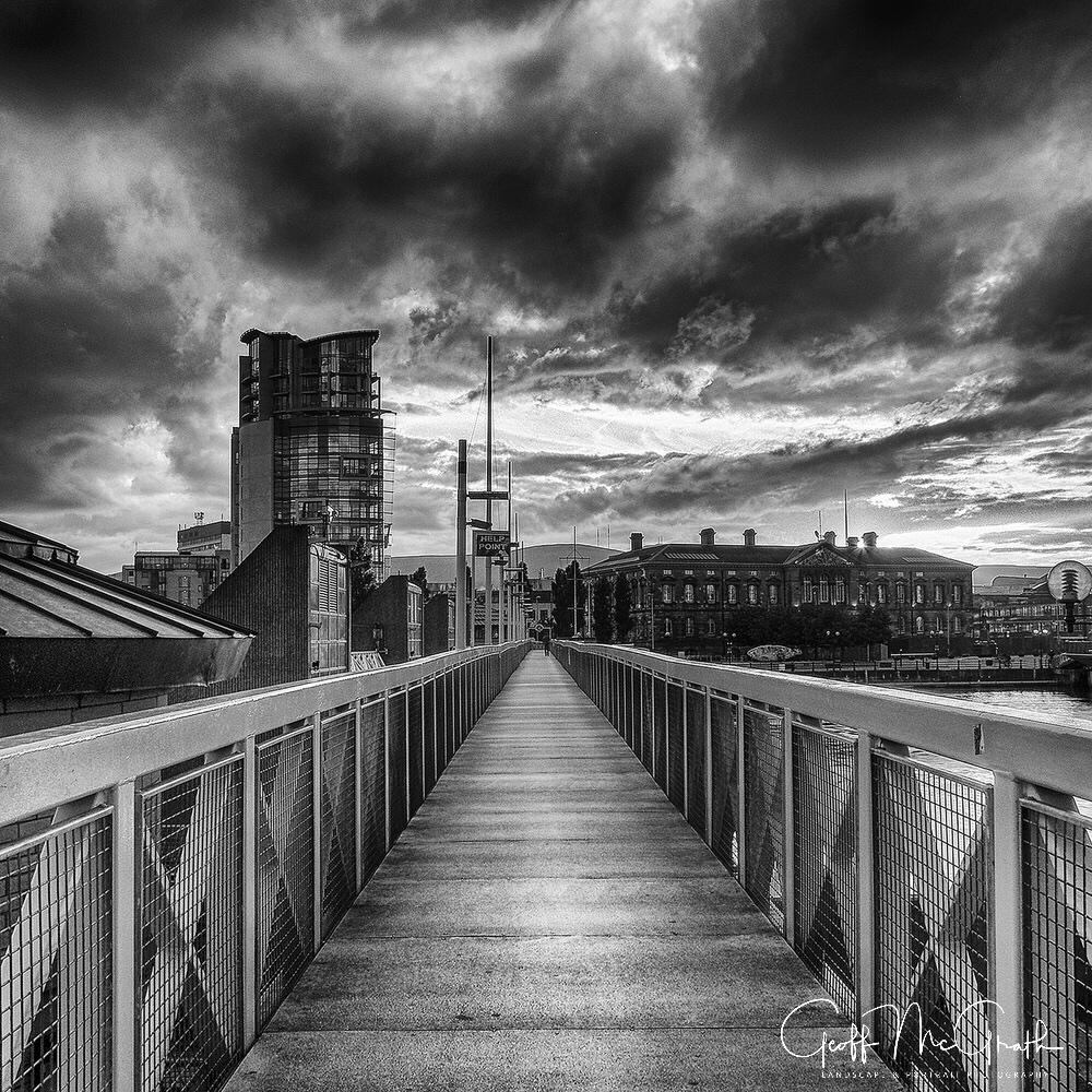 River Lagan Pedestrian Bridge