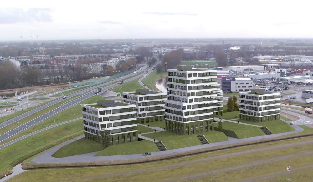 P8,  Kantoorbebouwing - Alkmaar (2)