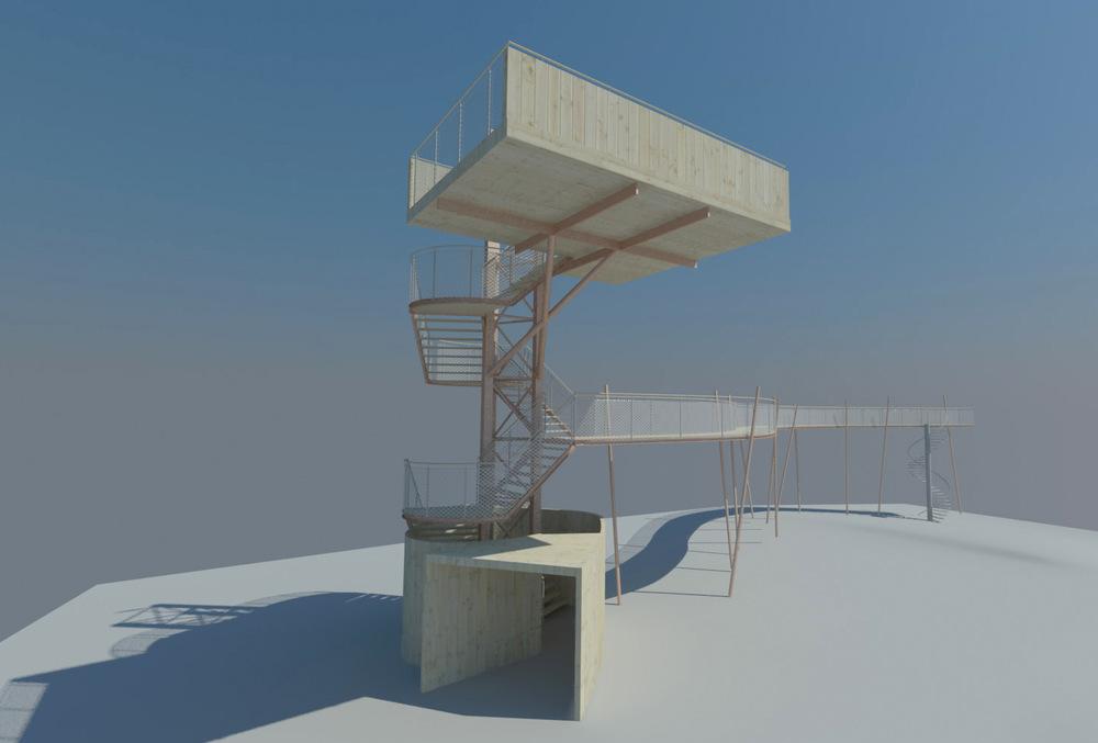 Uitkijktoren PWN - Heemskerk (2)