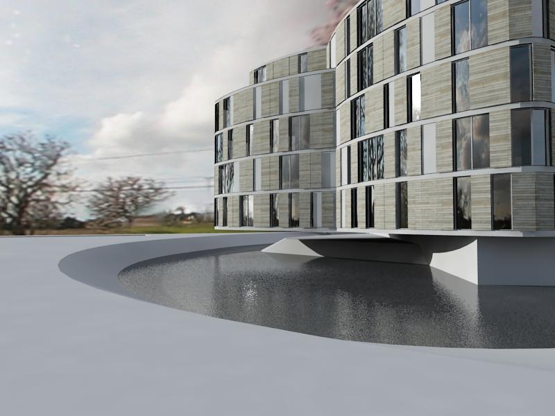 Appartementen, de Haaf - Bergen