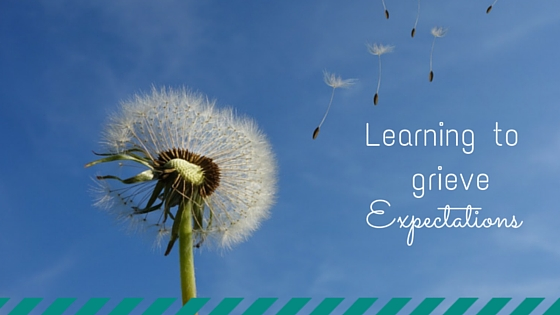 Learning to grieve expectations