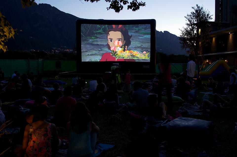 Función de Cine en el Parque
