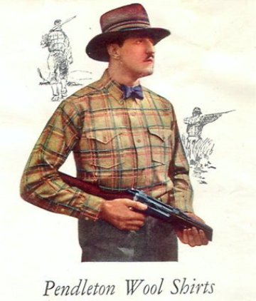 Vintage Pendleton ad. Courtesy Segui-riveted.blogspot.com