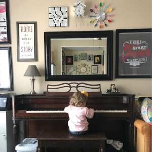 The day I let her thump one note repeatedly for approximately seventeen minutes, so I could get some work done...