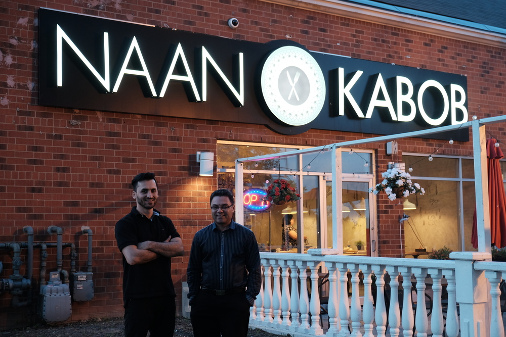 Naan and Kabob