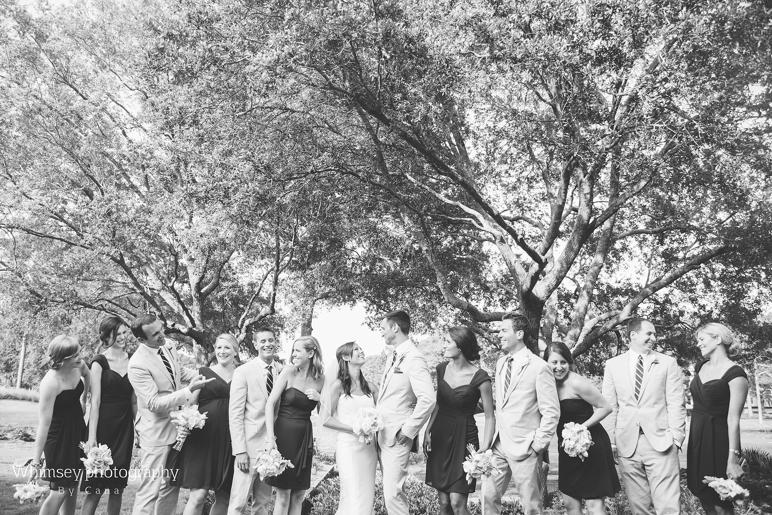 Outdoor Hilton Head Wedding