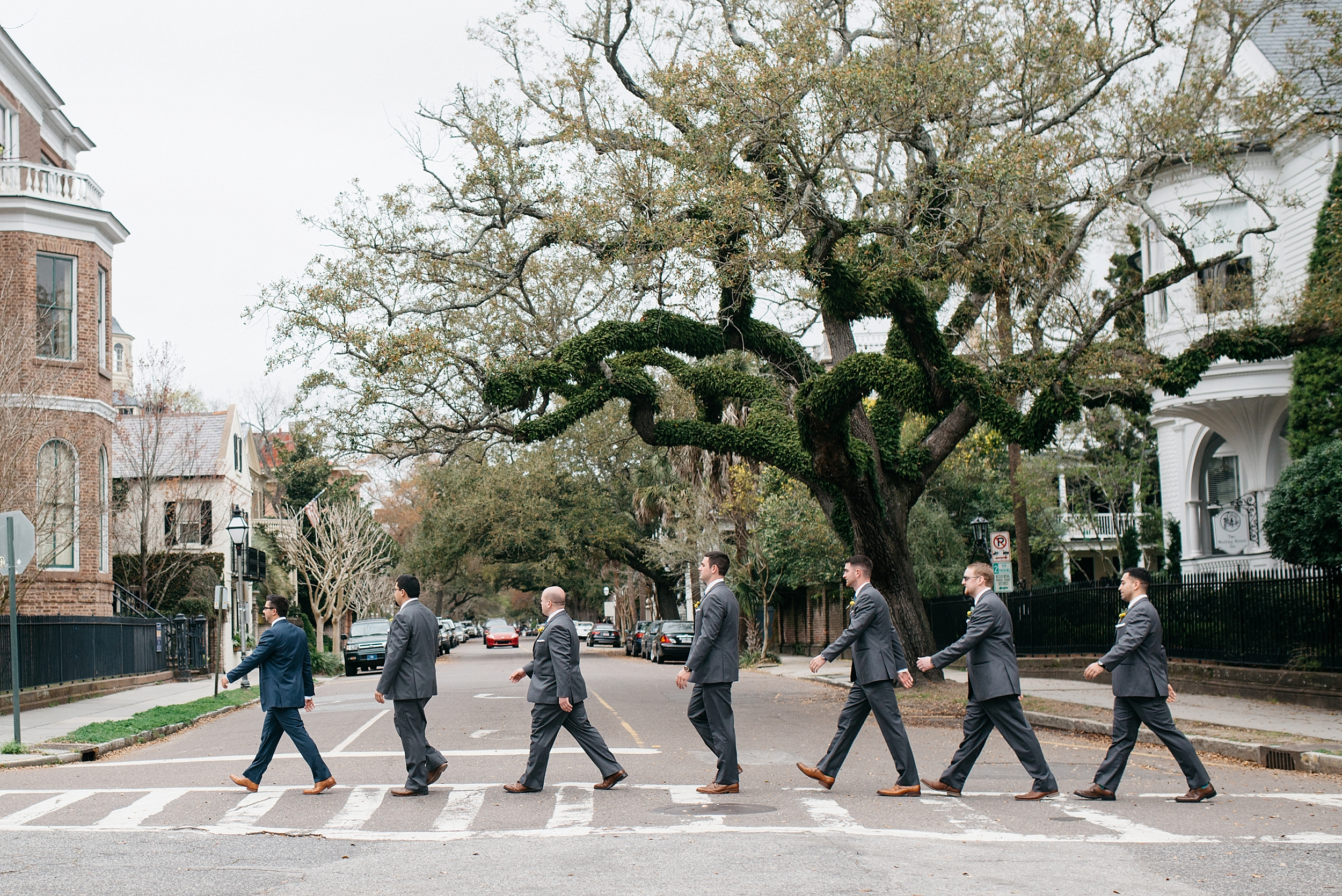 Groomsman Photo Beatles