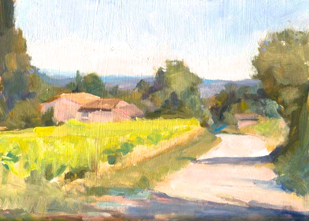 July Sun in Provence