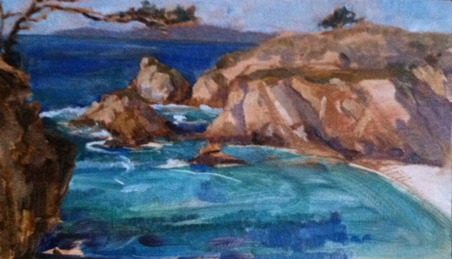 Point Lobos, Hidden Inlet