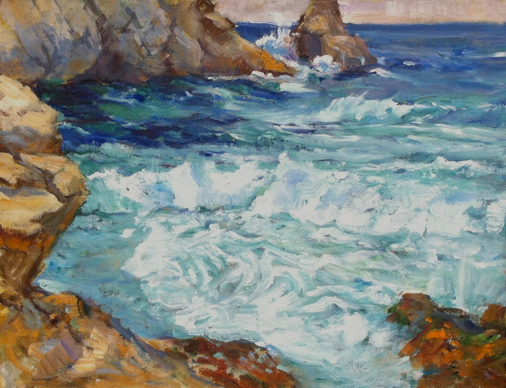 Incoming Tide, Partington, Big Sur