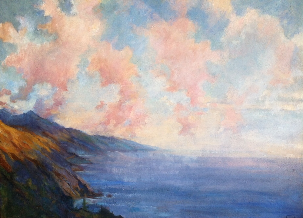 Spring Clouds, Big Sur