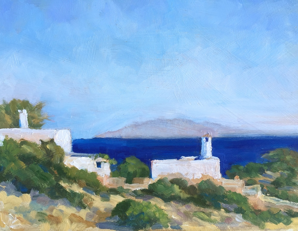 Island houses, Paros