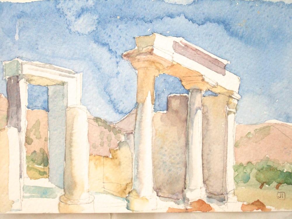 Temple Ruins, Naxos