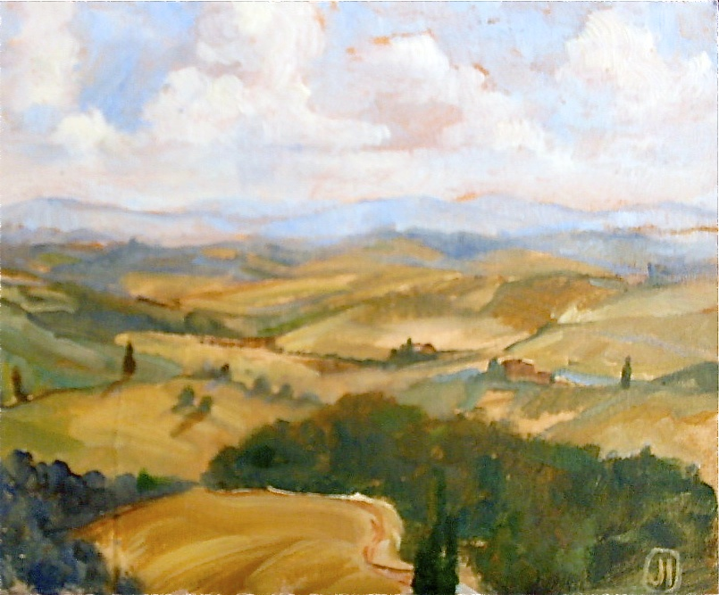 Val d'Orcia, near Trequanda
