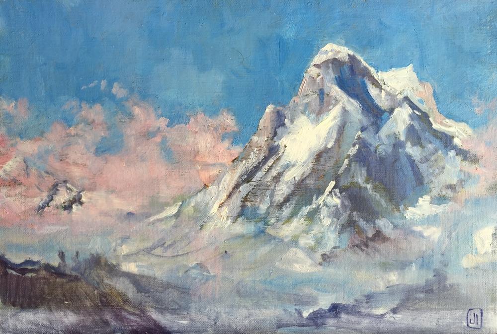 Shivling, Himalaya