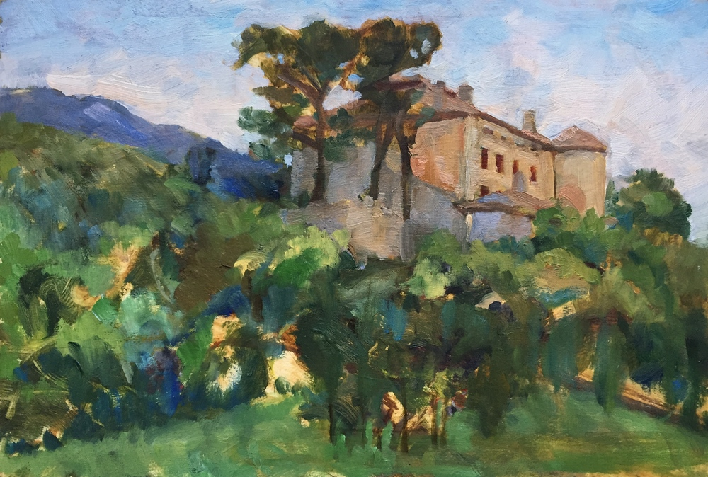 Picasso's Chateau, Vauvenargues