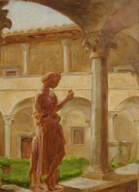 In the Cloister, Impruneta