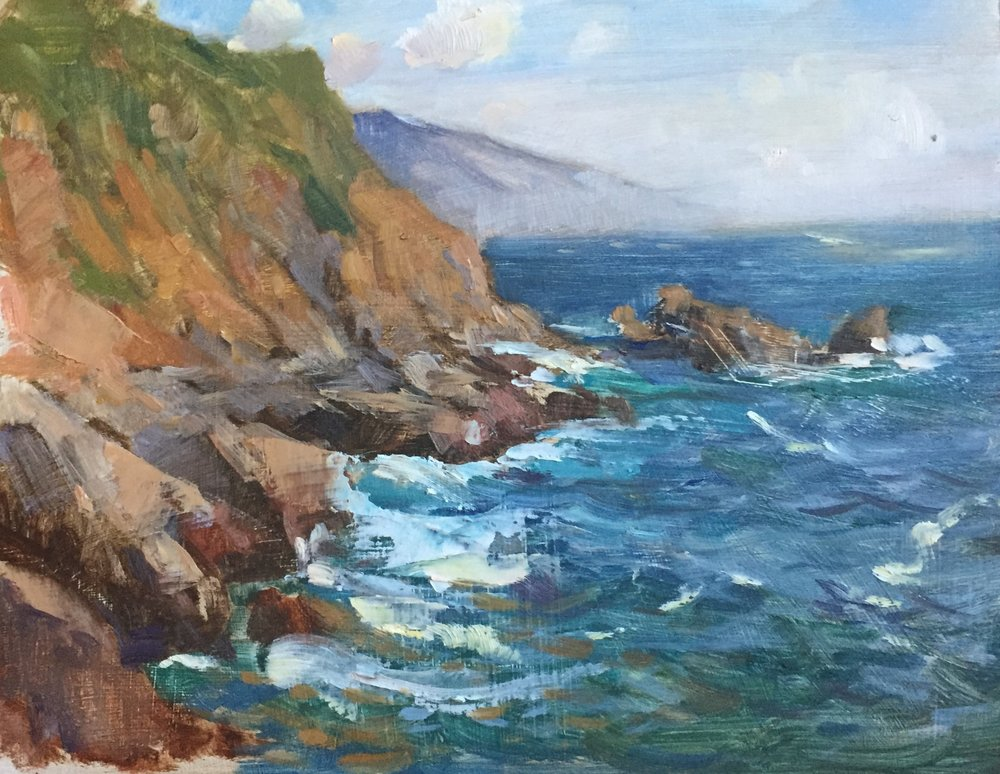 Early Spring, Partington Cove
