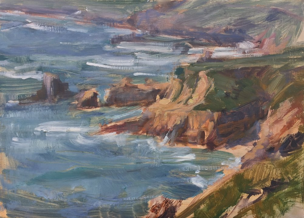Windy Spring on Soberanes Point