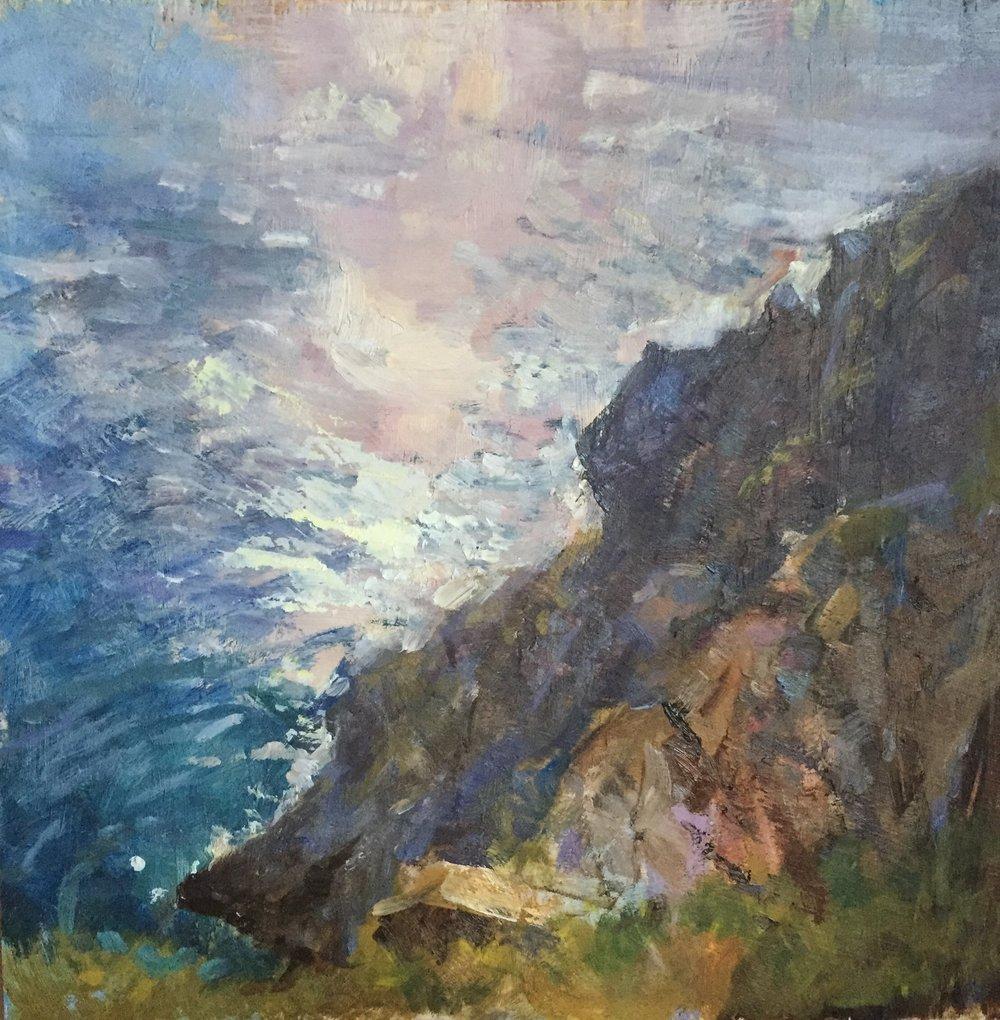 Opalescent ocean, Big Sur