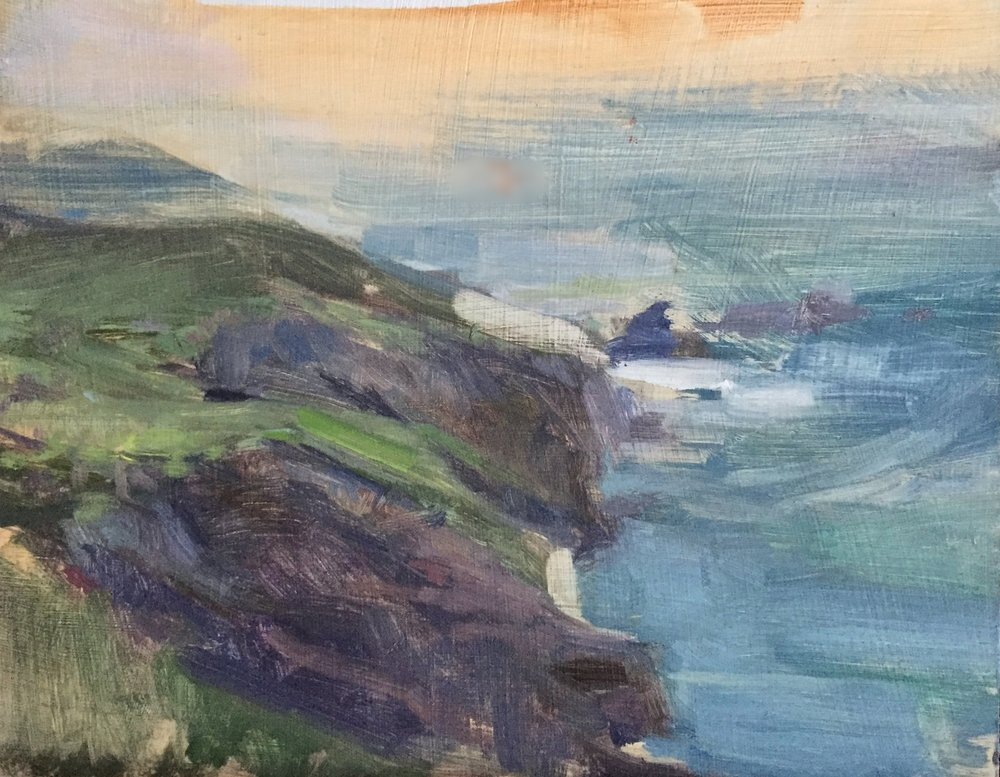 Close of Day, Soberanes Point