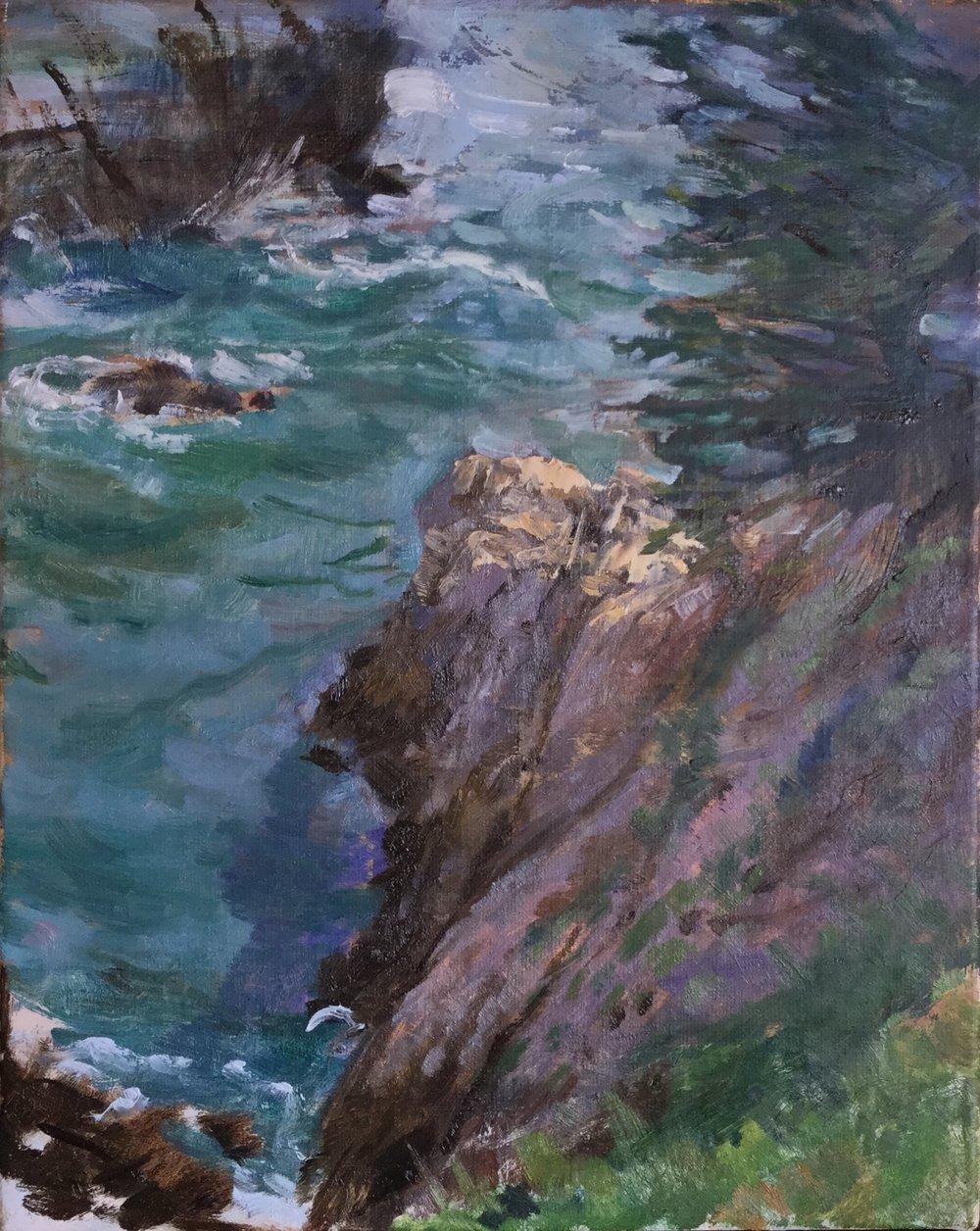 McWay Falls cove, Big Sur