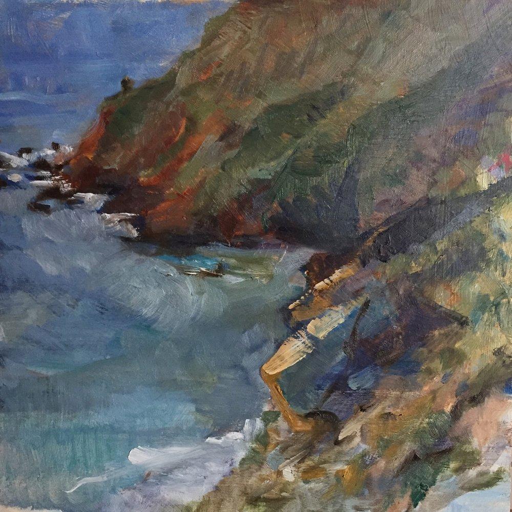 Rancho Grande Cliffs, Big Sur