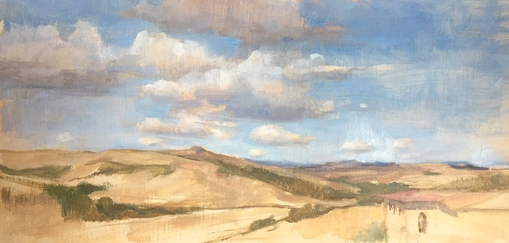 Val d'Orcia Summer Sky, Tuscany
