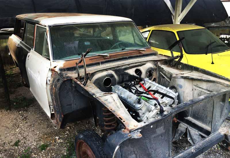 '07 LS Motor install