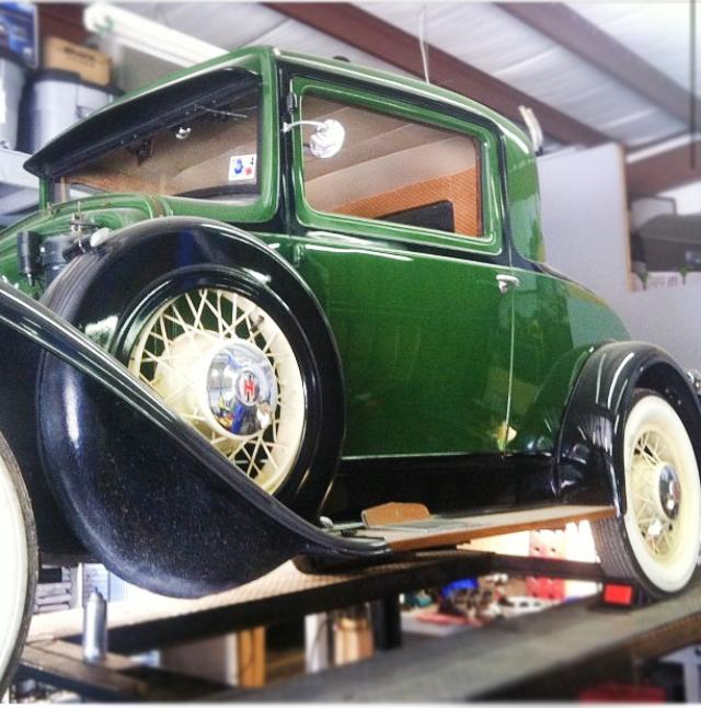 '29 Huppmobile